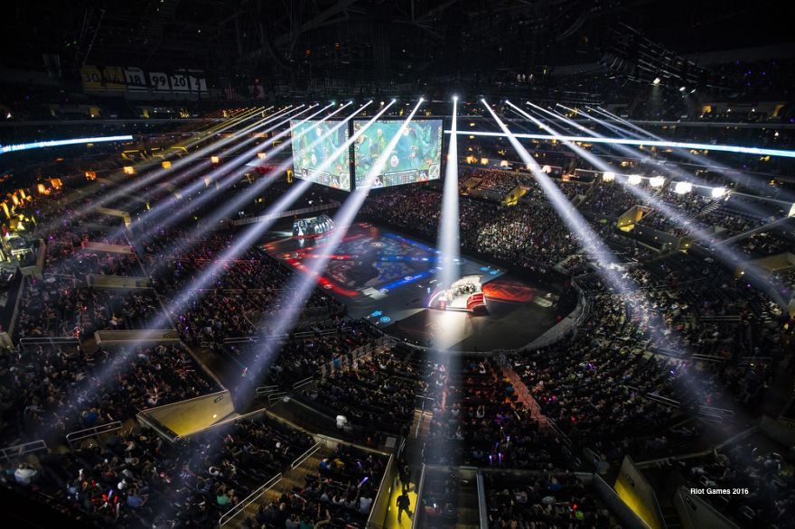 League Of Legends World Finals U2013 September / October 2016. Staples Center  Los Angeles Madison Square Garden, New York Chicago Theatre, Chicago